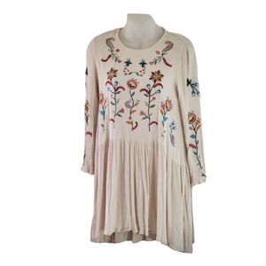 Selfie Leslie Small Embroidered Flower Dress/Top